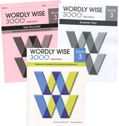 Wordly Wise 3000 Book 3 - Set (old)