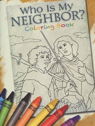 Who is My Neighbor? - Coloring Book