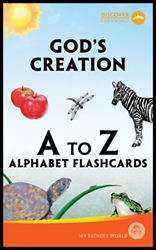 MFW God's Creation from A to Z - Flashcards