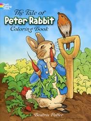 Tale of Peter Rabbit - Coloring Book