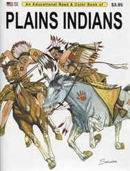 Plains Indians - Coloring Book