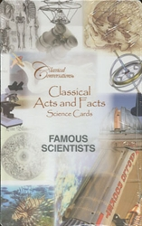 Classical Acts and Facts Science Cards: Famous Scientists (old)