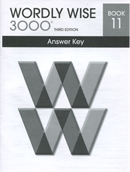 Wordly Wise 3000 Book 11 - Answer Key (old)