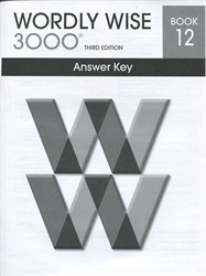 Wordly Wise 3000 Book 12 - Answer Key (old)