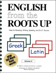 English from the Roots Up Volume II