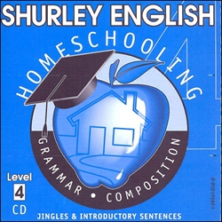 Shurley English Level 4 - Homeschool Audio CD