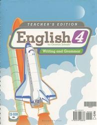 English 4 - Teacher Edition with Toolkit CD