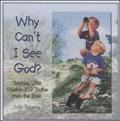 Judy Rogers CD - Why Can't I See God?