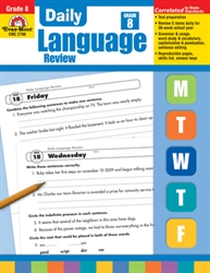 Daily Language Review 8