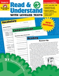 Read & Understand with Leveled Texts, Grade 6+