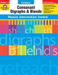 Primary Phonics Intervention Centers: Consonant Digraphs & Blends