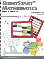 RightStart Mathematics Transition - Worksheets