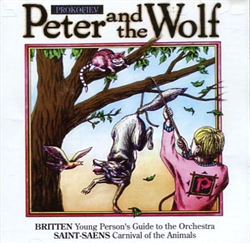 Peter and the Wolf - Audio CD