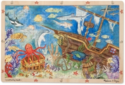 Sunken Treasures 96-piece Wooden Jigsaw Puzzle