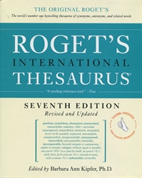 Roget's International Thesaurus