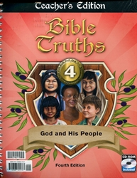 Bible Truths 4 - Teacher Edition & CD