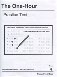 One Hour Practice Test 4 - Student Book