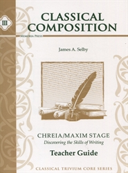 Classical Composition Book III - Teacher Guide