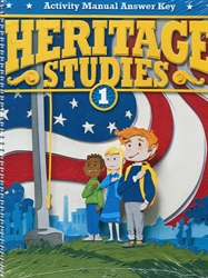Heritage Studies 1 - Student Activity Teacher Manual