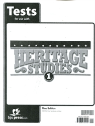 Heritage Studies 1 - Tests