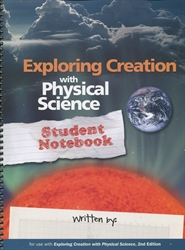 Exploring Creation With Physical Science - Notebook
