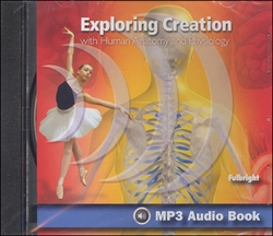 Exploring Creation With Human Anatomy and Physiology - MP3 Audio