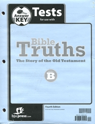 Bible Truths Level B - Tests Answer Key