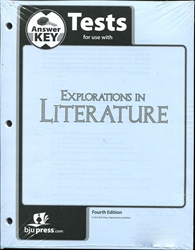 Explorations in Literature - Tests Answer Key