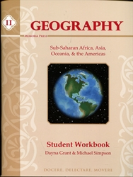 Memoria Press Geography II - Workbook