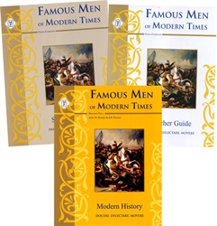 Famous Men of Modern Times - Memoria Press Package