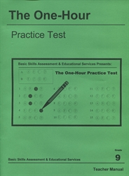 One Hour Practice Test 9 - Teacher Book