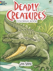 Deadly Creatures - Coloring Book