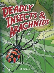 Deadly Insects and Arachnids - Coloring Book