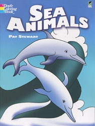 Sea Animals - Coloring Book