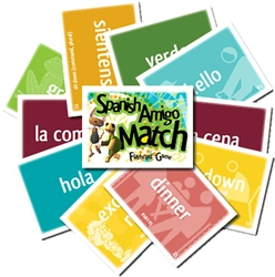 Song School Spanish: Spanish Amigo Match
