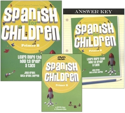 Spanish for Children B - Package