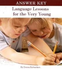 Language Lessons for the Very Young - Answer Key
