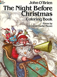 Night Before Christmas - Coloring Book