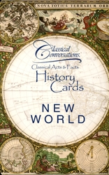 Classical Conversations New World - History Cards