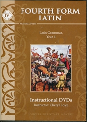 Fourth Form Latin - Instructional DVDs