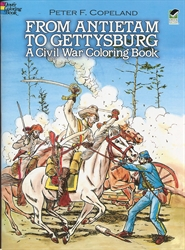 From Antietam to Gettysburg - Coloring Book