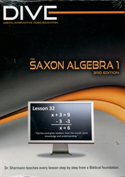 DIVE Algebra 1 CD-ROMs (Third Edition)