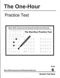 One Hour Practice Test 6 - Student Book