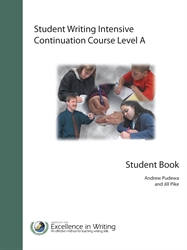 Student Writing Intensive Level A - Continuation Course Student Handouts