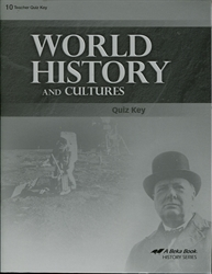 World History and Cultures - Quiz Key