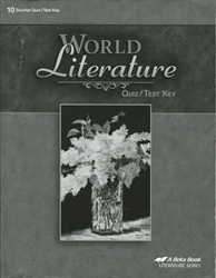 World Literature - Quiz/Test Key