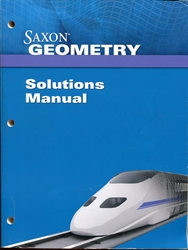 Saxon Geometry - Solutions Manual