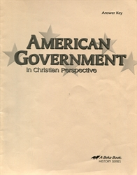 American Government - Answer Key