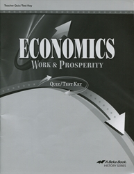 Economics: Work and Prosperity - Test/Quiz Key