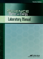 Science: Matter and Energy - Laboratory Manual Teacher Edition